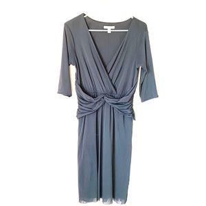Anthropologie weston wear gray dress
